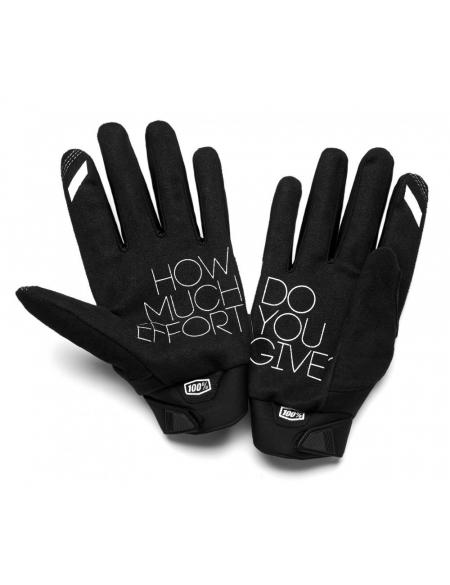 Зимние мото перчатки RIDE 100% BRISKER Cold Weather [Fluo Orange/Black]