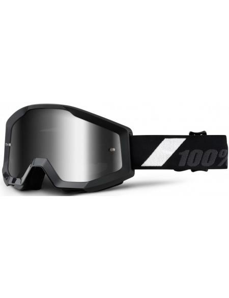 Мото очки 100% STRATA Goggle Goliath - Mirror Silver Lens