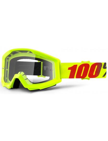 Мото очки 100% STRATA Goggle Mercury - Clear Lens