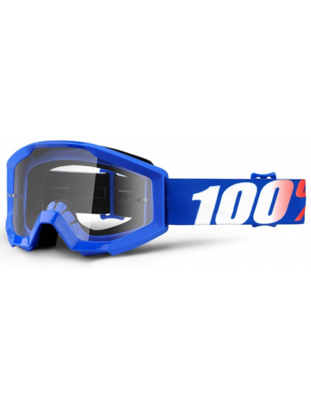 Мото очки 100% STRATA Goggle Nation - Clear Lens