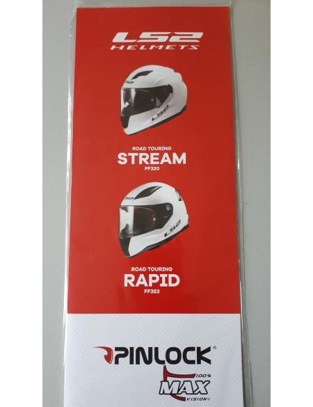 LS2 PINLOCK CLEAR FF353/320/390/397/800