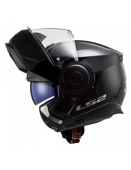 LS2 FF902 SCOPE SOLID GLOSS BLACK