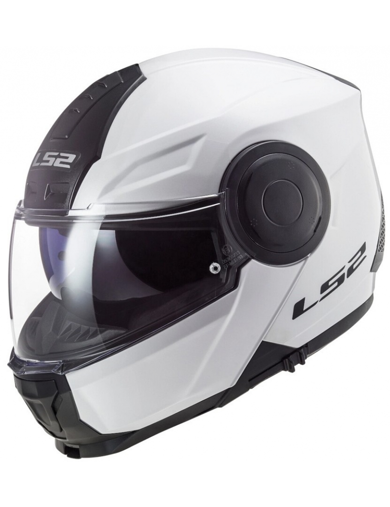 LS2 FF902 SCOPE SOLID WHITE