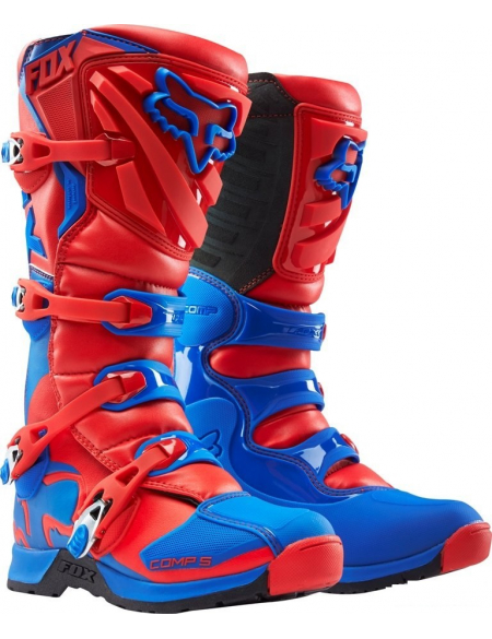 FOX COMP 5 BOOT RED