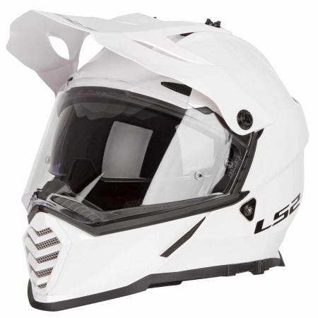 LS2 MX436 PIONEER EVO GLOSS WHITE