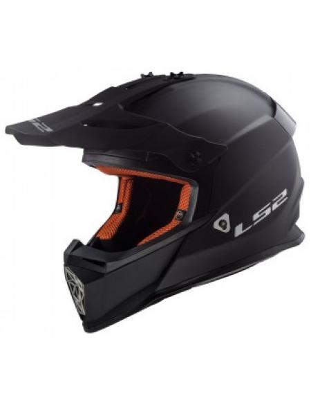 LS2 MX437 FAST EVO MATT BLACK