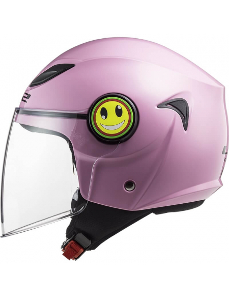 Детский LS2 OF602 Funny Gloss Pink