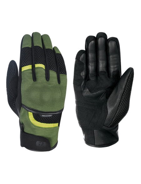 Oxford Brisbane Air MS Short Summer Glove Green/Black
